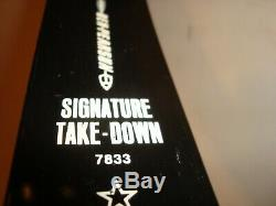 Vintage Ben Pearson SIGNATURE Take-Down Glasspowered Recurve Bow 7833, AP-60 40#