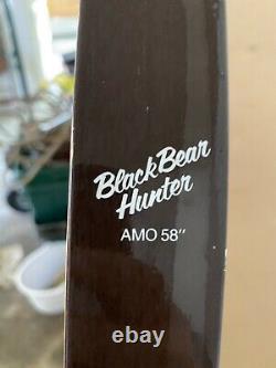 Vintage Black Bear Hunter 58 Recurve Bow