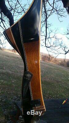 Vintage Black Hawk Galaxie Apollo Target Recurve Bow Archery Bow R-H 38#