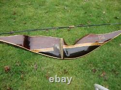 Vintage Browning Cobra II Recurve Bow 47 lb Draw RH 58 AMO