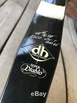 Vintage Damon Howatt Archery Super Diablo, 48lb. Hunting Deer And Bear. NICE