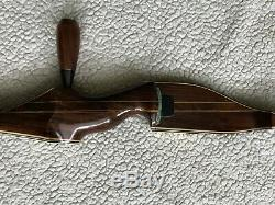 Vintage Damon Howatt Super Diablo, Rh 54# Indian Rosewood Recurve Bow, Hunting
