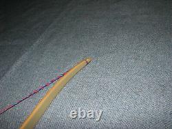 Vintage Fred Bear Alaskan Longbow Ercurve bow Archery Bows 1950s L-R-H