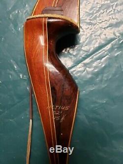 Vintage Fred Bear Archery Kodiak Magnum Recurve Bow 45 lb Right Hand 52 AMO