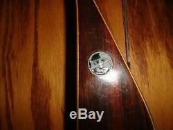 Vintage Fred Bear Grayling Kodiak Magnum Recurve Bow, RH, 40#, 52 Very Nice