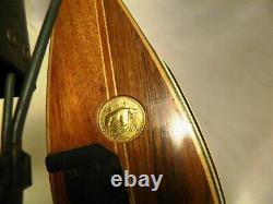 Vintage Fred Bear Kodiak Hunter Glass Powered Recurve Bow 60 40# 1953 NICE