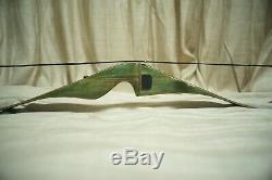 Vintage Fred Bear Kodiak Magnum Recurve Bow Hunting 52 45 # Glass Powered