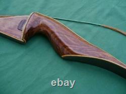Vintage Fred Bear Left Handed Glass Powered Kodiak Magnum Recurve Bow 52 45#