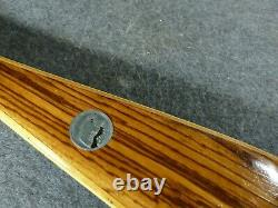 Vintage Fred Bear Polar Recurve Bow, LH, 66 40#, 8AA51, Approx. 1962, Very Good