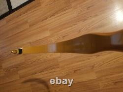 Vintage Herters 46 60# Perfection. Post Sitka Model Recurve Bow Rare Rh
