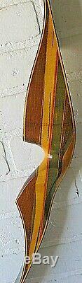 Vintage Hoyt Pro Hunter Recurve Bow 50# Rh 58 Hunting Trad Archery Rare Vgvc A