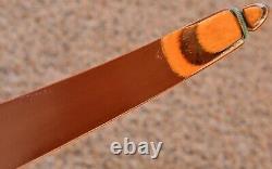 Vintage RARE ROOT Brush Master Recurve bow RH 55 45# 1960s NEW BEAR String