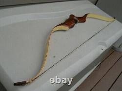 Vintage Sanders Sportster Recurve Bow #45/28 Draw RH 62Light Marks Nice Lookin