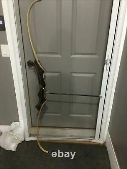 Vintage Wing Presentation ll Takedown Recurve Bow R-H 66 30# With Case Plus More