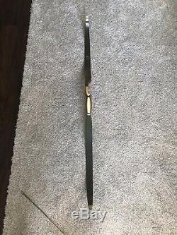 Vintage bear kodiak recurve bow + 12 Arrows No Reserve Auction