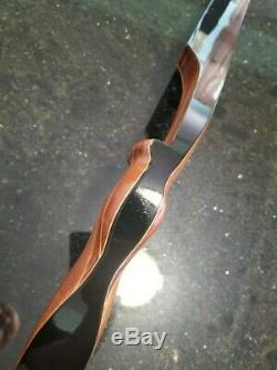 Vintage recurve bow, Bear Magnum, Pearson, Herters, Wing