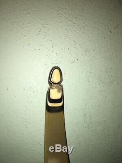 Vtg 41# 62 Fred Bear Grizzly Archery Rh Recurve Bow No Holes As Is