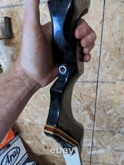 WING Presentation 2 II take down recurve bow 70 38# LEFT HANDED LH RARE