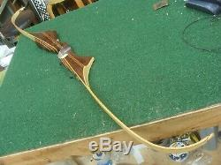 Wilson Brothers 1965 BLACK WIDOW 101 recurve bow #14326 68 36 @ 28