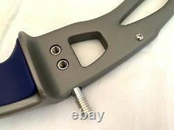 Win & Win Inno CXT 25 Archery Recurve Riser Left Handed Silver
